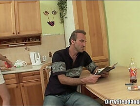 My Stepdad Gets a good Fuck Me In A Beautiful Relaxing Day