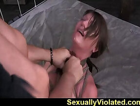 Midwestern girl bang hard bondage