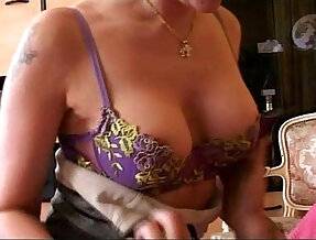 Hot French mom fucked hard and deep hard by a young stud