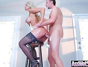 Big Wet Ass Girl Kenzie Taylor Get Oiled And Hard doggy Style Banged clip 19