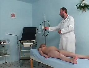 Pregnant girl riding her gynaecologists hard prick
