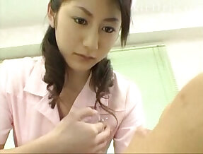 Asias big beautiful eyes nurses