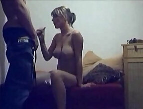 Cheating hot wife caught on hidden cam
