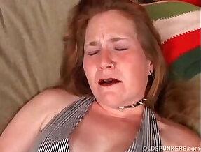 Mature woman has an orgasm