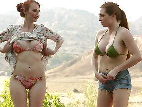 Venturesome lesbians seek to pleasure themselves