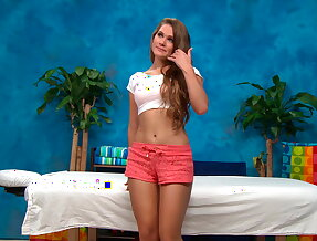 Young 18 year old teen\'s pussy dicked hard