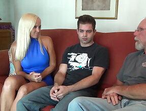 Dani Dare fucks her family