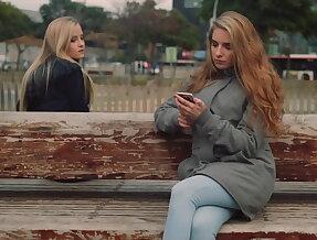 Fancy blondes love lesbo sex